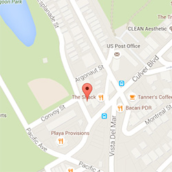 Map to Art of Pilates in Playa del Rey