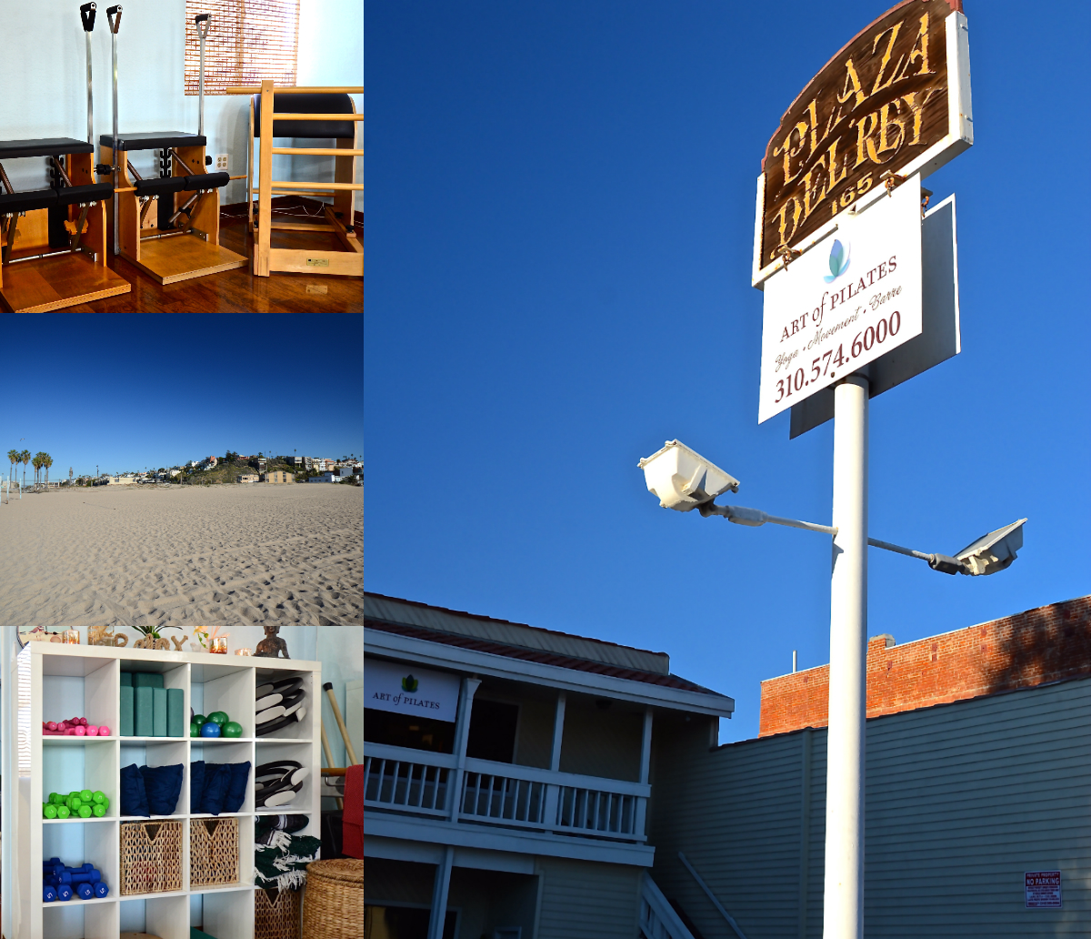Art of Pilates collage | Art of Pilates | Playa del Rey, CA