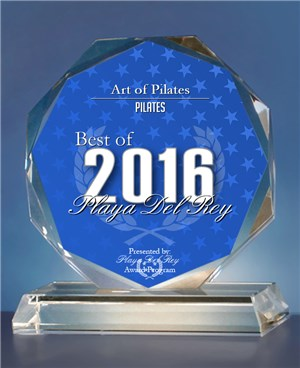 Art of Pilates wins the Best of 2016 Playa del Rey award